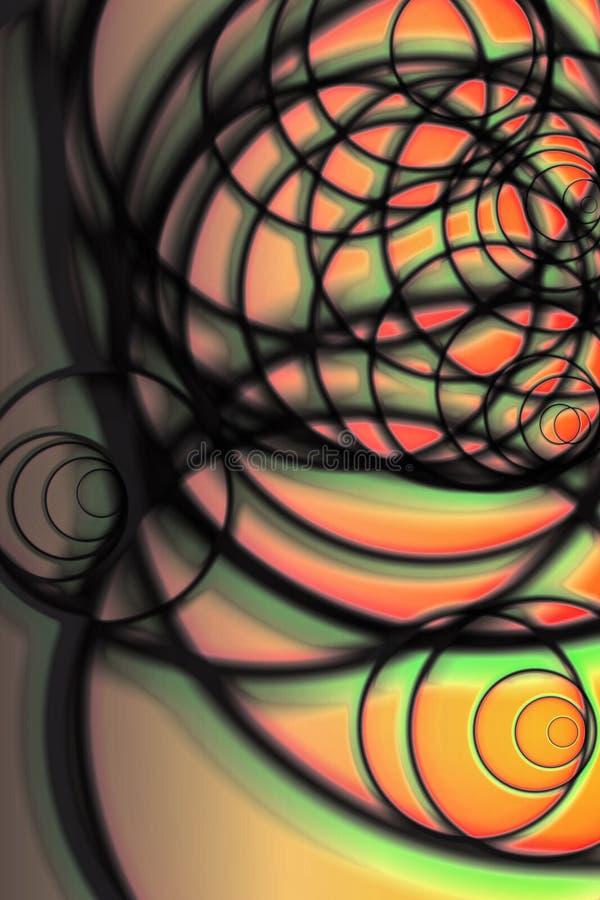 Absrtract Strudel vektor abbildung