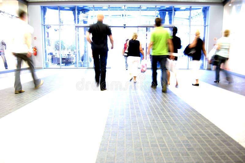 abstact购物 免版税图库摄影