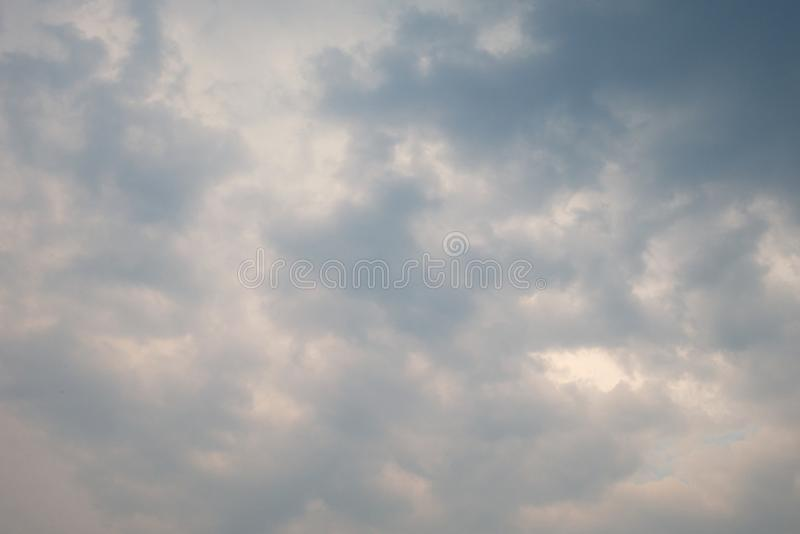 Abstact background Sky and dark clouds. Abstact background Sky and dark cloud stock photography