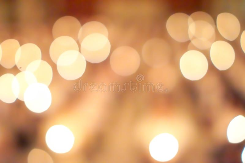Abstact Bokeh Candlelight background.  stock photos