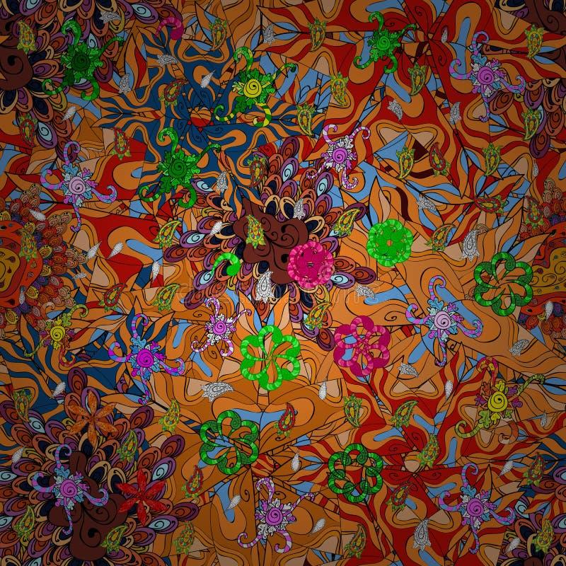 Abstact colorfil beeld vector illustratie