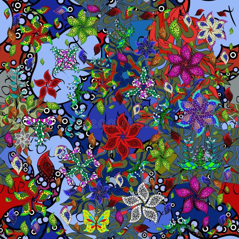 Abstact colorfil beeld royalty-vrije illustratie