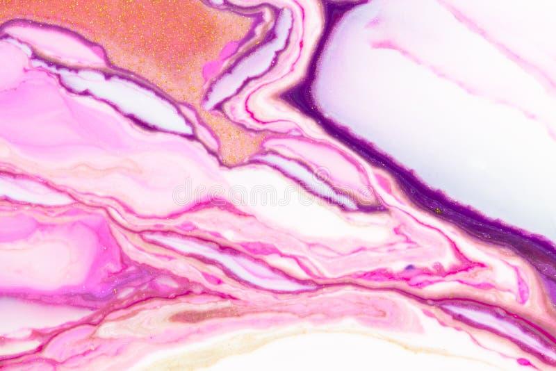 Abstact rosado y púrpura del fondo imagenes de archivo