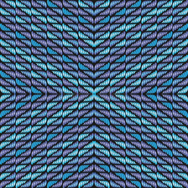 Abstact seamless background patterns for the design of textiles, the printing industry and variety of design projects stock illustration