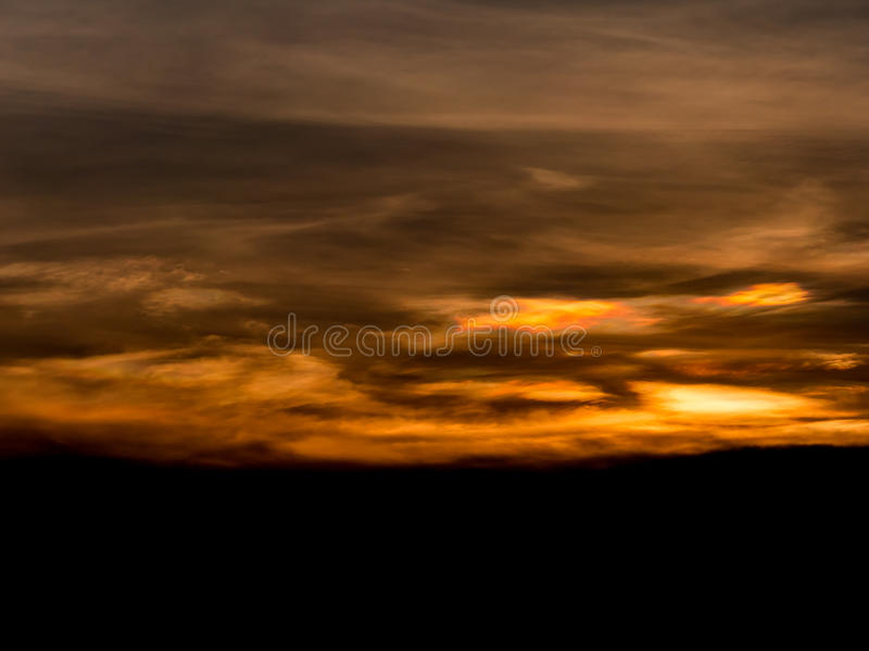Abstact sky with clouds. Beautiful sunset sky background royalty free stock images