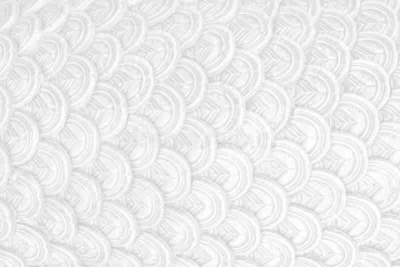 Abstact tekstury tła biała czysta szalkowa skala zdjęcia royalty free