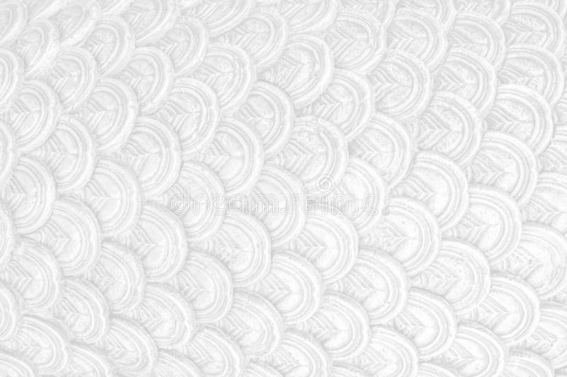 Abstact white clean scale texture background scale. Like mermaid ,snake skin royalty free stock photos