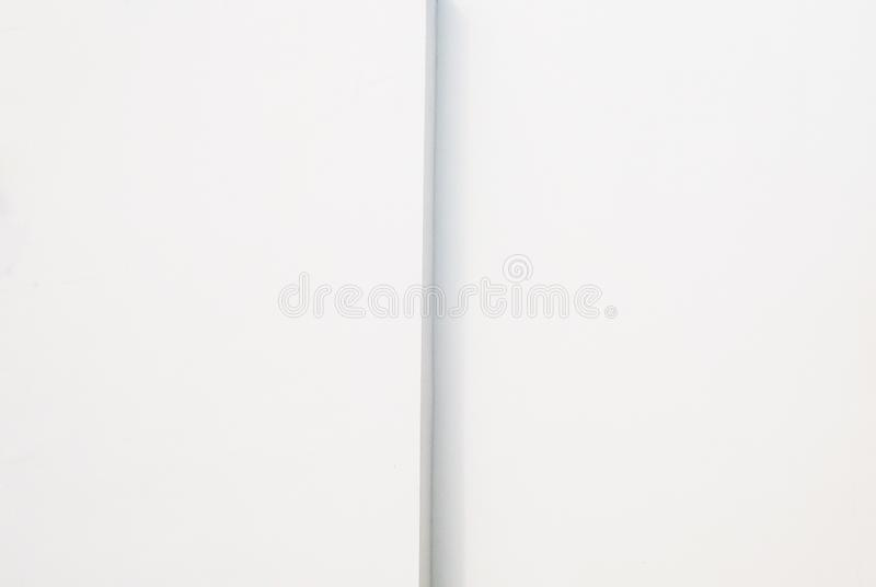Abstact white modern architecture background. Abstact white modern architecture blank background stock image