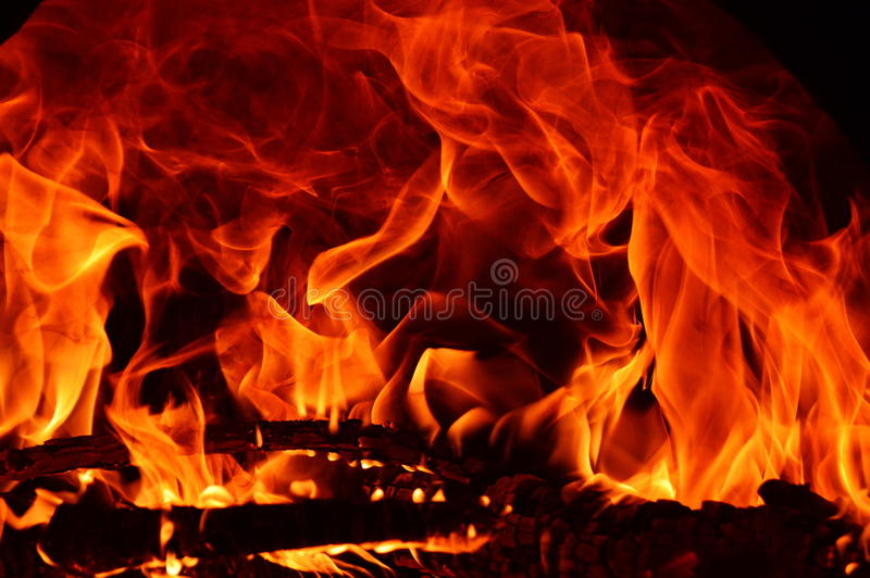 Abstarct del fuego foto de archivo