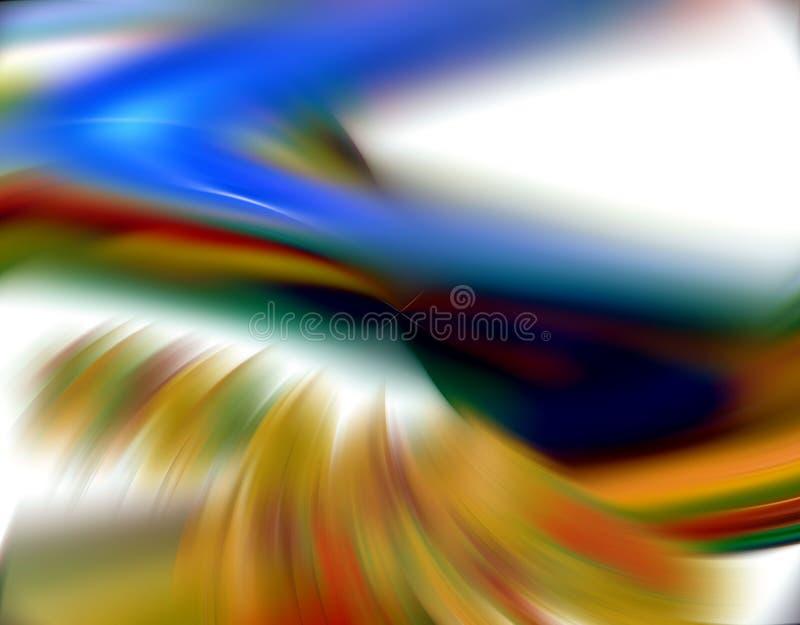 Abstarct nieba odcienie na białym tle obrazy royalty free