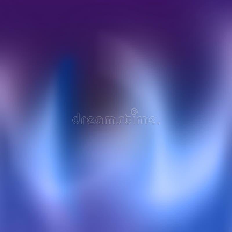 Abstarct Unschärfen vektor abbildung