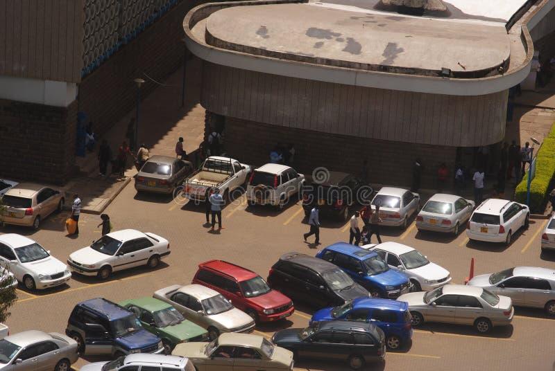 Abstellplatz-Universität von Nairobi lizenzfreie stockfotos