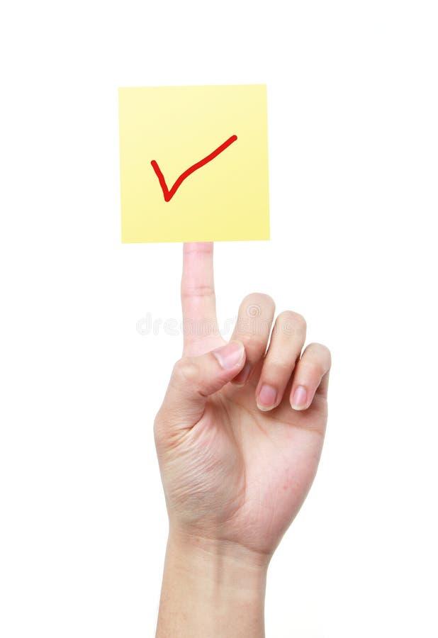 Abstimmungs-Konzept stockbilder