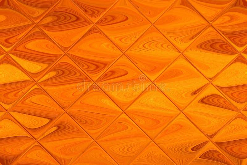 Abstração de uma textura curvada de uma árvore barbeada e de telhas do vidro foto de stock