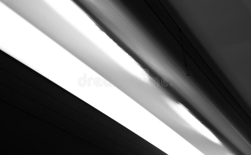 Abstração preto e branco das linhas elétricas ilustração do vetor