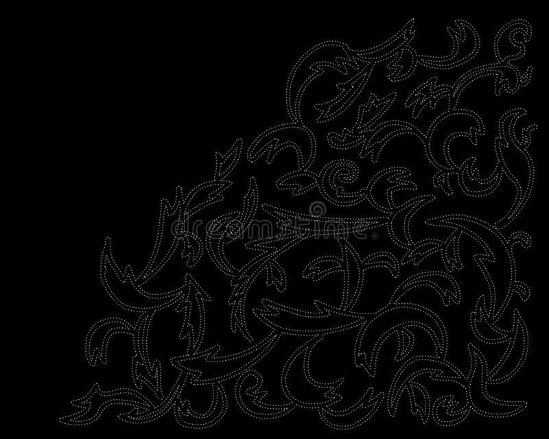 abstrabakgrundsillustration arkivbild