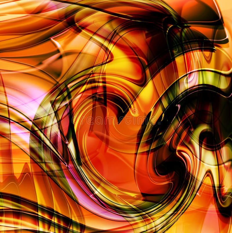 Abstracção ilustração stock