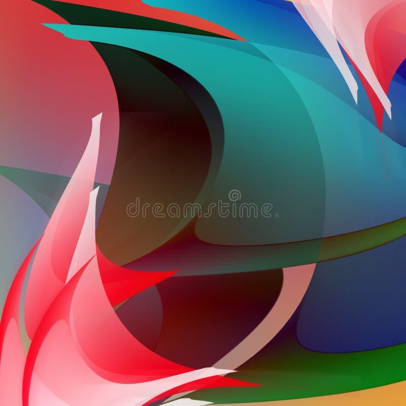 Abstracção ilustração royalty free