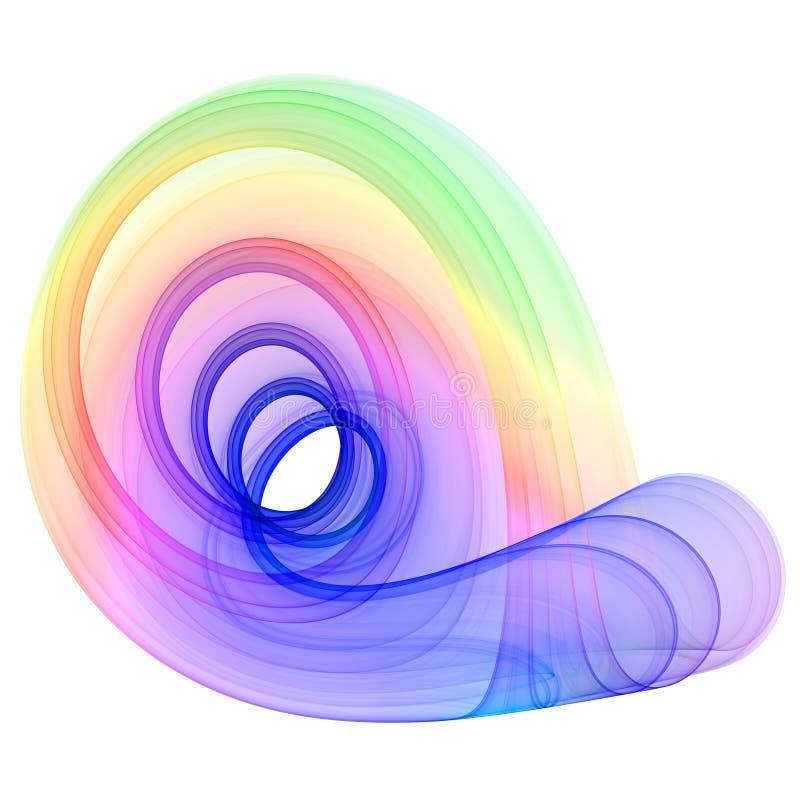 Abstracção colorida ilustração stock