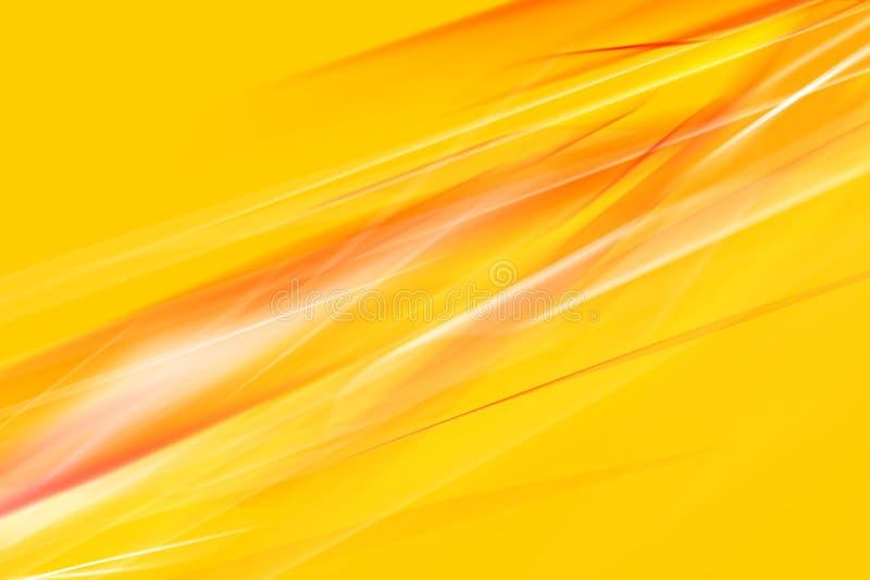 Abstracção da cor alaranjada ilustração royalty free
