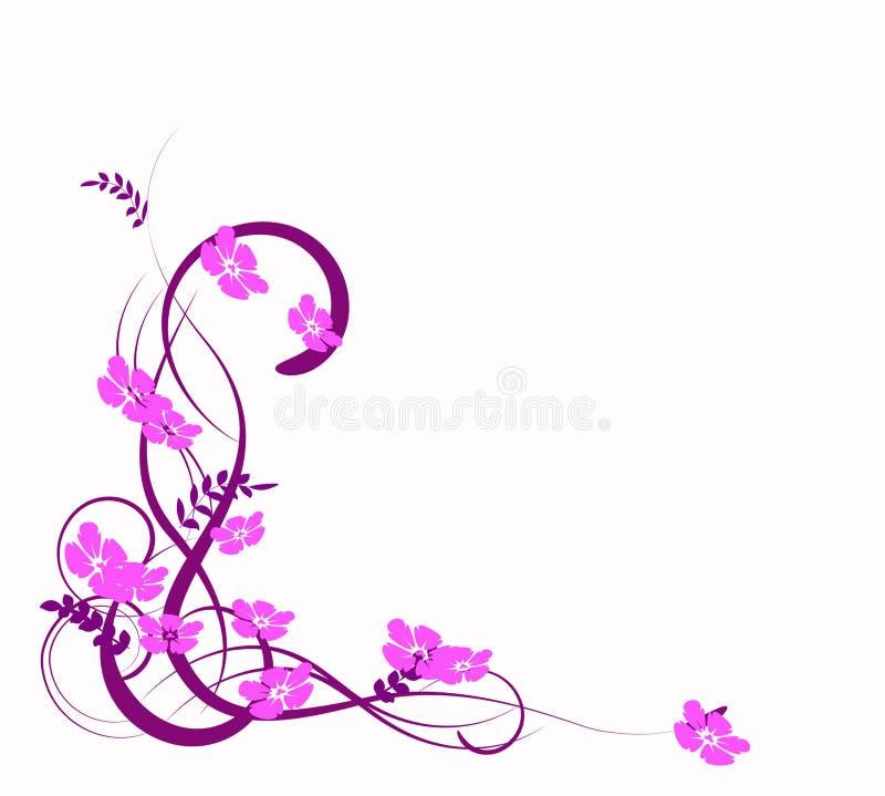 Abstracção do Lilac ilustração do vetor