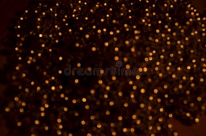 Abstracção dourada fotografia de stock