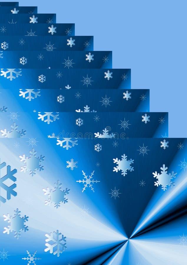 Abstracción de la Navidad. ilustración del vector