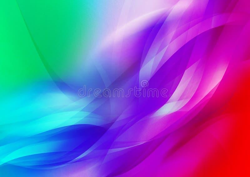 Abstracción del color stock de ilustración