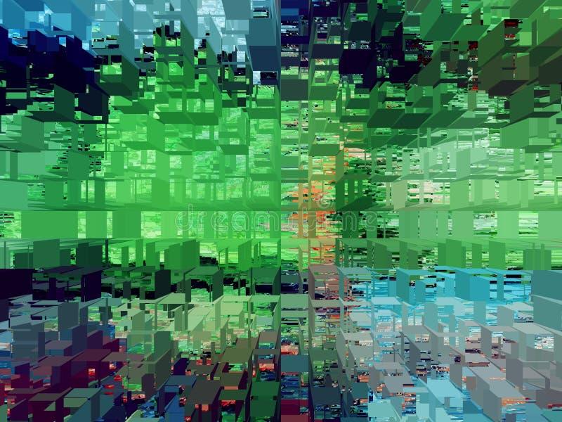 Abstracción Extracto Textura textured unicidad abstracciones extractos texturas stock de ilustración