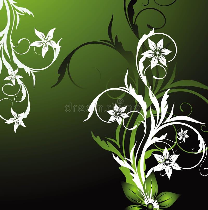 Abstracción floral libre illustration