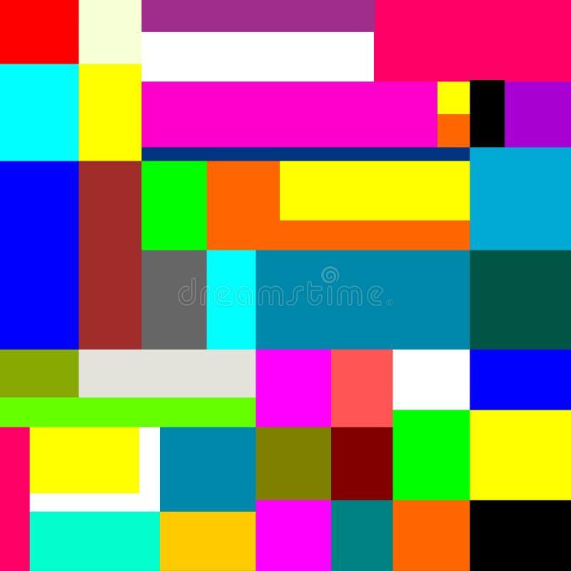 Abstracción hermosa Estera para un ratón del ordenador stock de ilustración