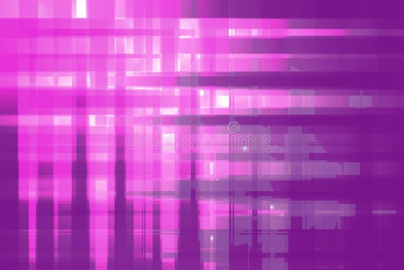 Abstracción rosada y púrpura stock de ilustración
