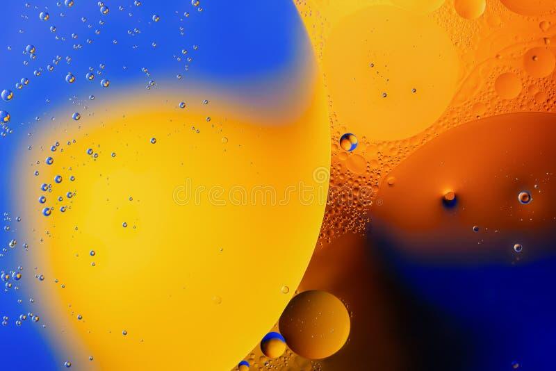 Abstracci?n, fondo Burbujas, primer Tiroteo macro fotos de archivo libres de regalías