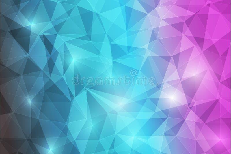 Abstrack background-09 de Trianggle imagem de stock