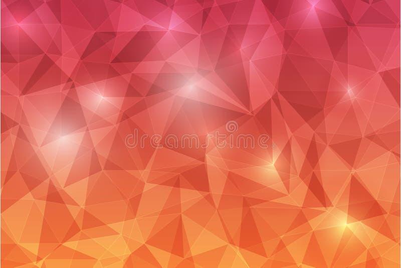 Abstrack background-09 de Trianggle fotografia de stock royalty free
