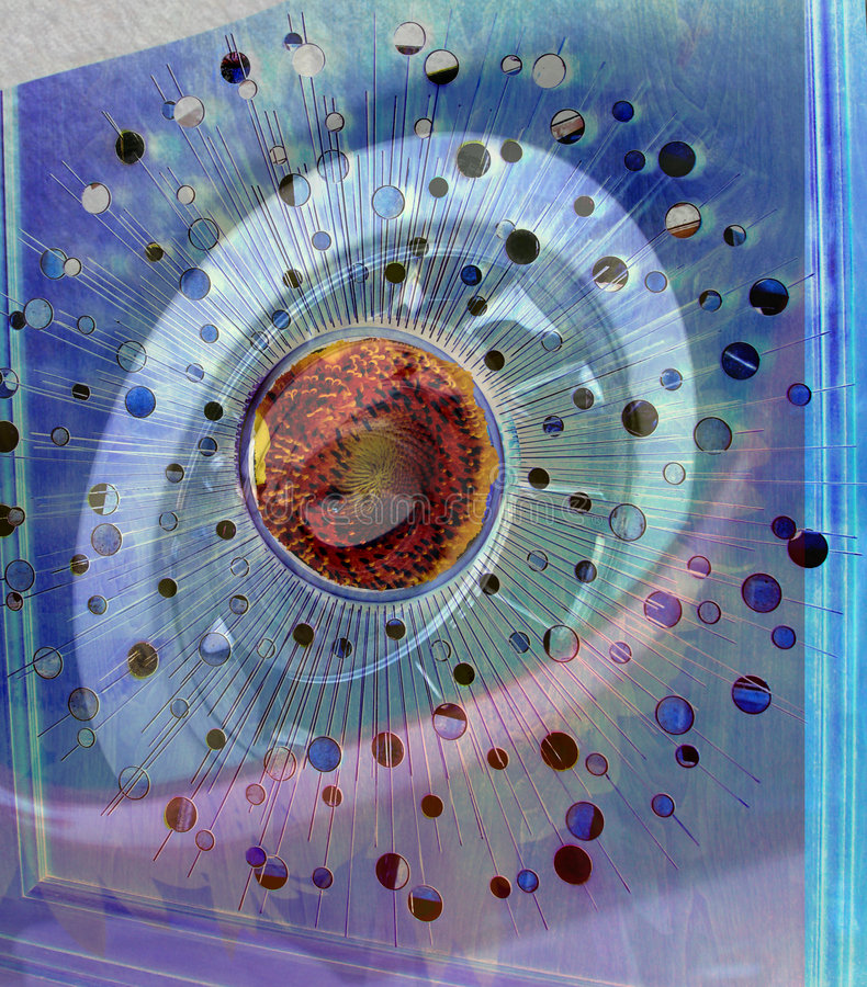 Download Abstract 2 stock image. Image of spiral, flower, mirror - 752689