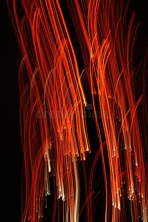 Abstract. Effect with color lights, optical fibres and my camera. Good for prints, wallpapers and all backgrounds royalty free stock photography