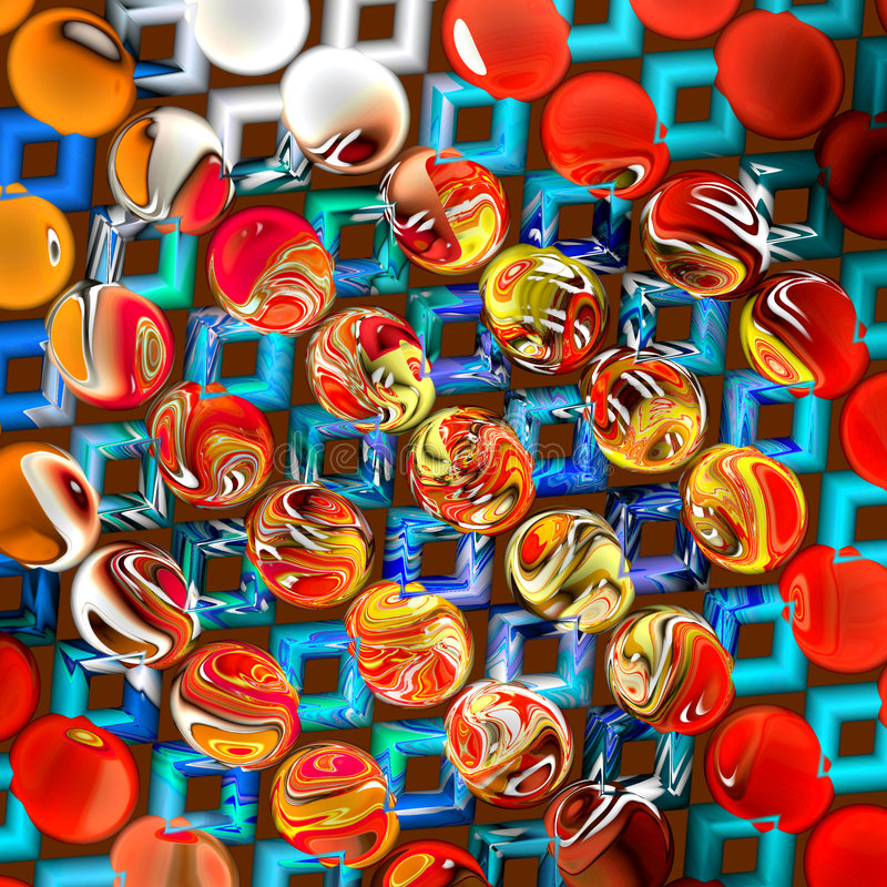 Abstract 3D Background royalty free illustration