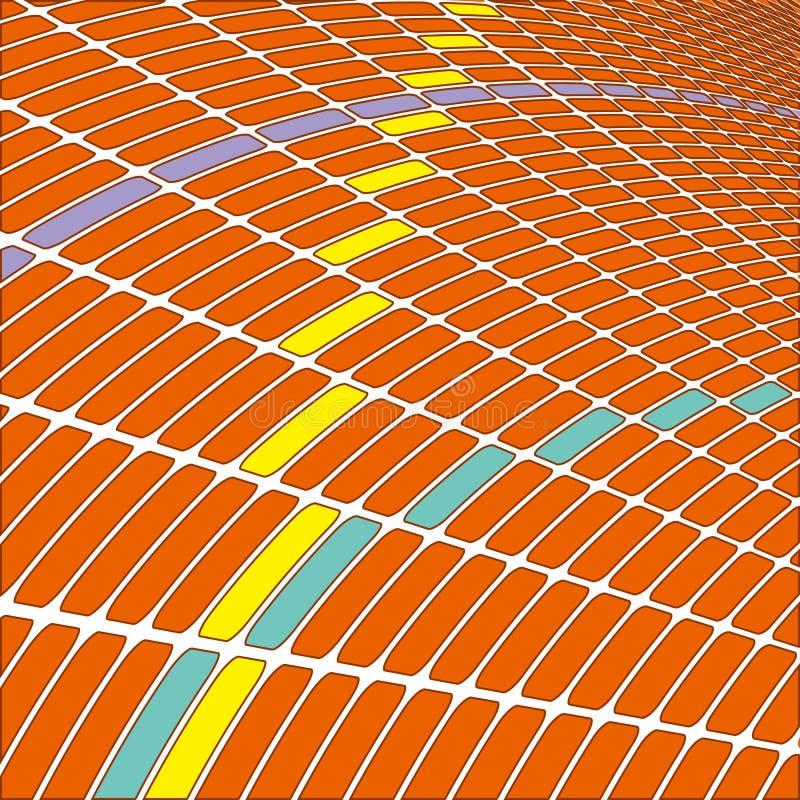 Abstract 3d oneindig net voor technologie royalty-vrije stock foto