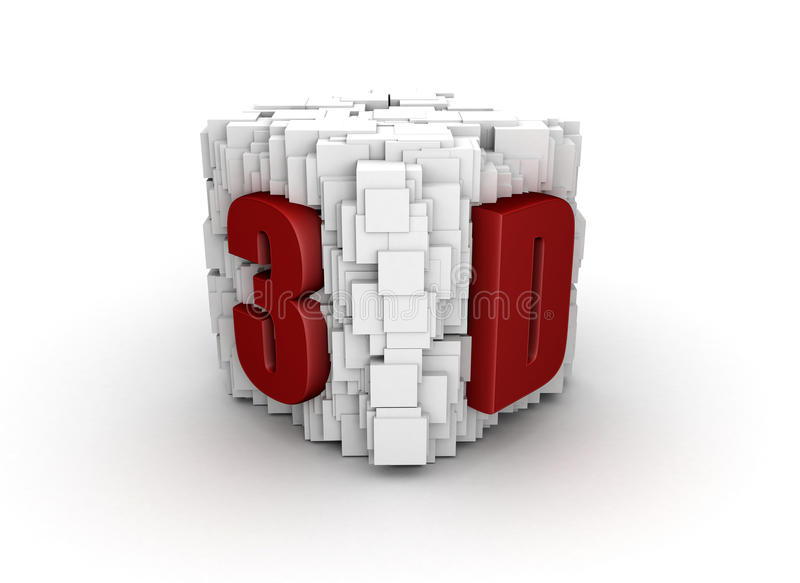 Abstract 3d presentation