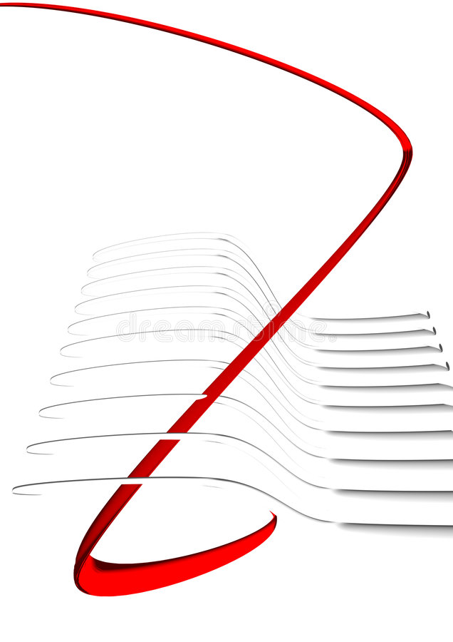 Download Abstract 3D shapes stock illustration. Image of abstract - 4923027