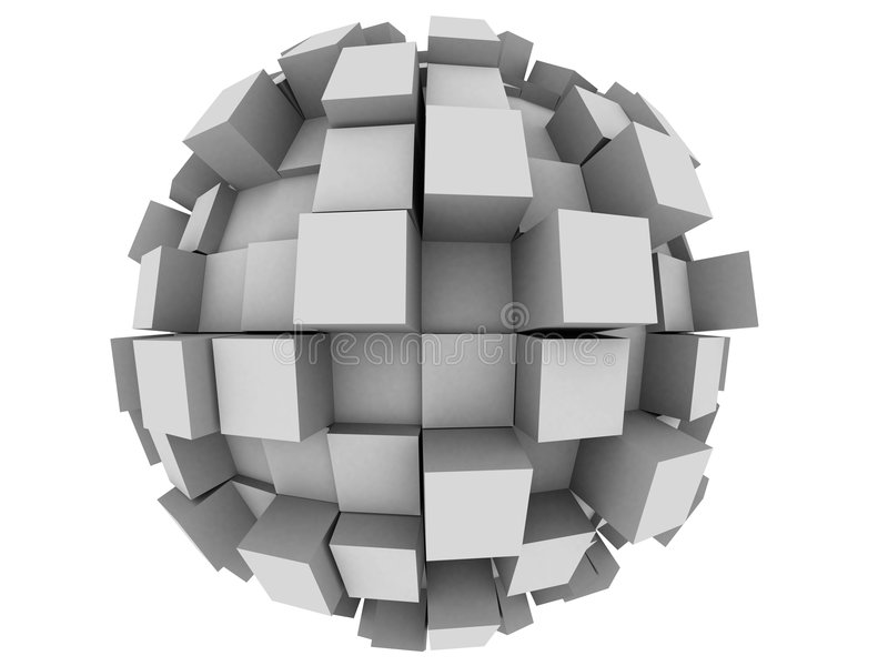 Download Abstract 3d Sphere stock illustration. Image of conceptual - 4538029