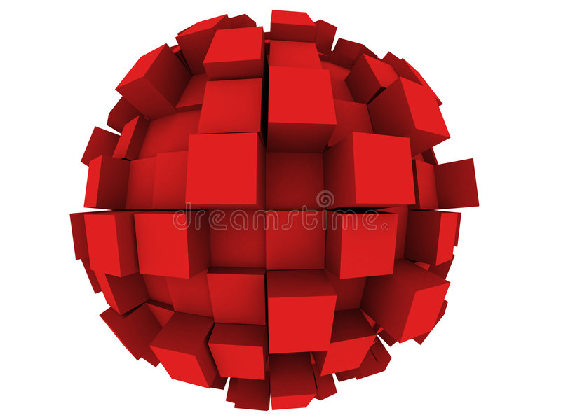 Download Abstract 3d Sphere stock illustration. Illustration of illustration - 4603486