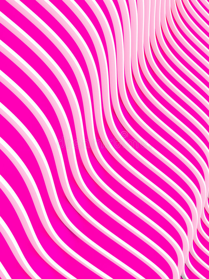 Abstract 3d waves background