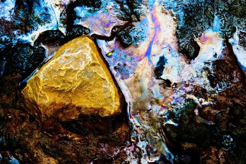 Abstract aard nog water royalty-vrije stock fotografie
