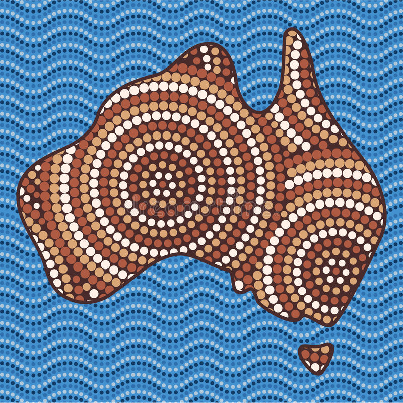 Free Abstract Aboriginal Art Stock Photography - 28475432