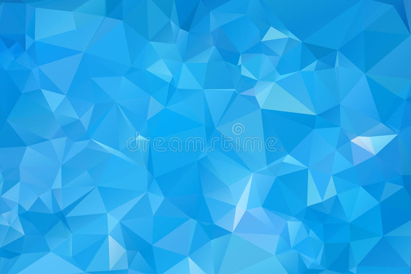 Abstract Abstract water triangular pattern royalty free stock photography