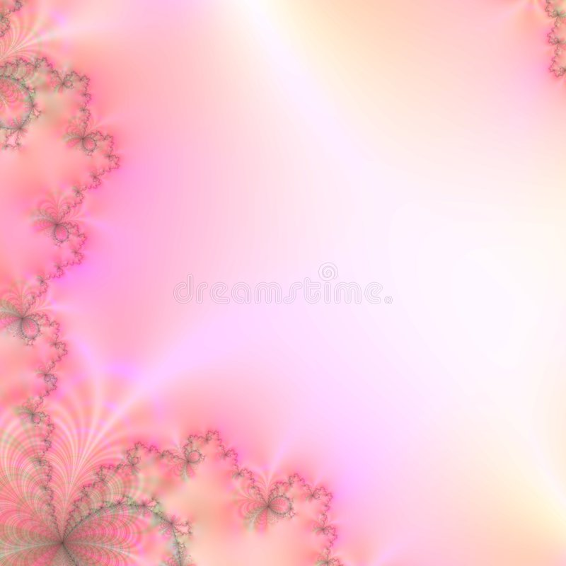Abstract achtergrondontwerpmalplaatje in schaduwen van roze, gele, en groene pastelkleuren royalty-vrije illustratie