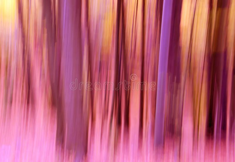Abstract Achtergrondpanning Bos stock fotografie