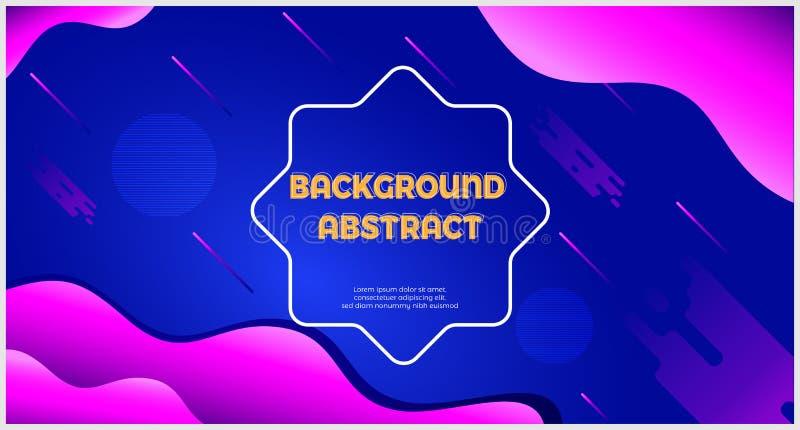 Abstract achtergrondpastelkleurblauw en viooltje royalty-vrije illustratie